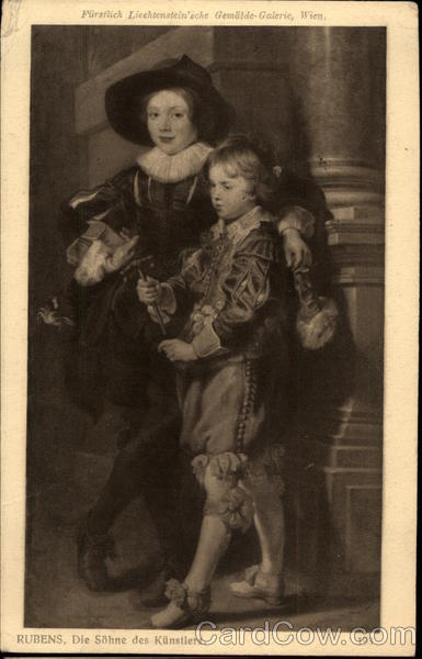 Rubens' Portrait of His Sons Art