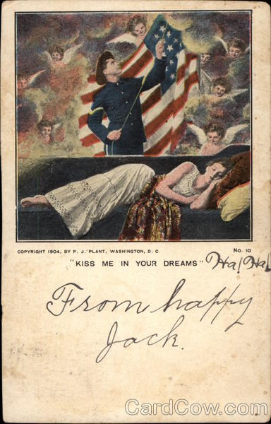 Kiss me in your dreams Patriotic