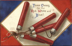 Three Cheers for the Red White and Blue!