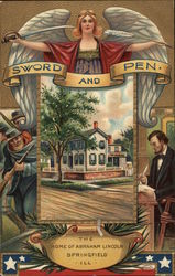 Sword and Pen - The Home of Abraham Lincoln, Springfield, Ill