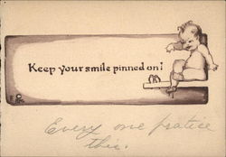 Keep your smile pinned on!