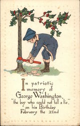 In Patriotic Memory of George Washington