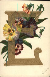 Pansies and the Letter E