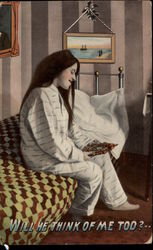 Woman in Pajamas