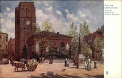 Chelsea Old Church, After the Painting by Horace Van Ruith