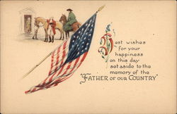 Father of our Country Postcard