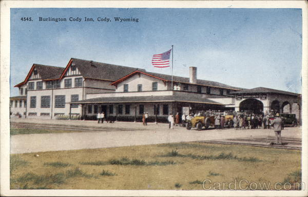 Burlington Cody Inn Wyoming
