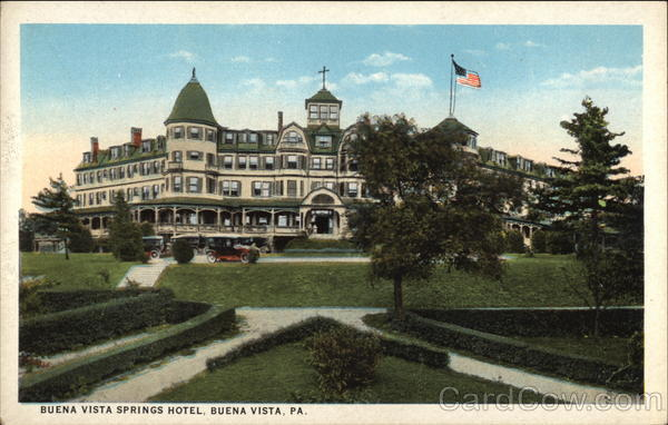 Buena Vista Springs Hotel Pennsylvania