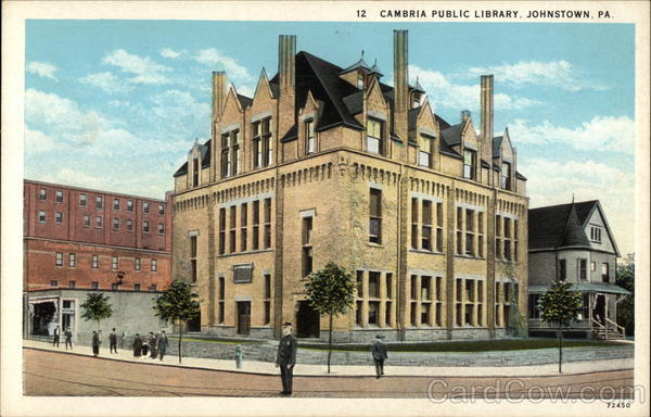 Cambria Public Library Johnstown, PA