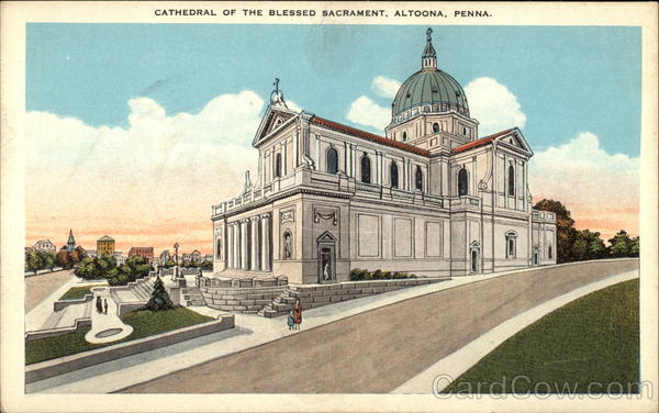 Cathedral of the Blessed Sacrament Altoona Pennsylvania