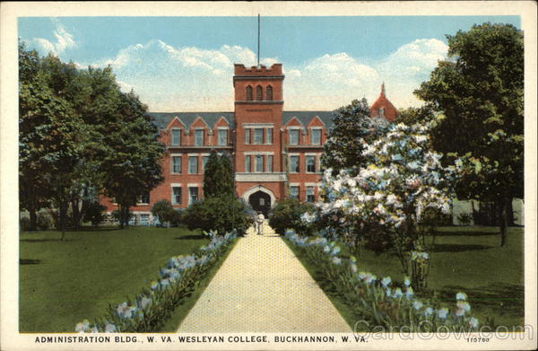 Administration Building, W. Va. Wesleyan College Buckhannon West Virginia