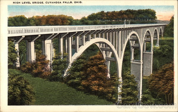 Cuyahoga Falls (OH) United States  city pictures gallery : High Level Bridge Cuyahoga Falls Ohio