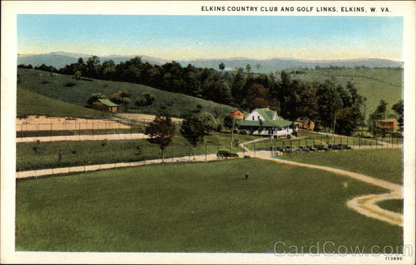 Elkins Country Club and Golf Links West Virginia