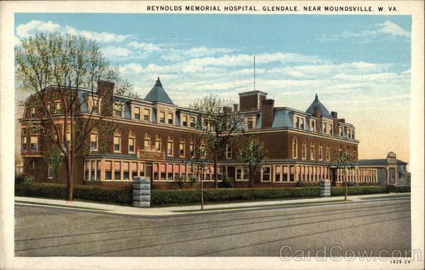 Reynolds Memorial Hospital, near Moundsville Glendale West Virginia