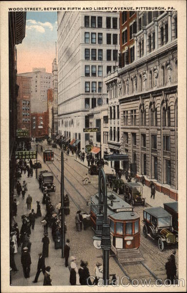 Wood Street, Between Fifth and Liberty Avenue Pittsburgh Pennsylvania