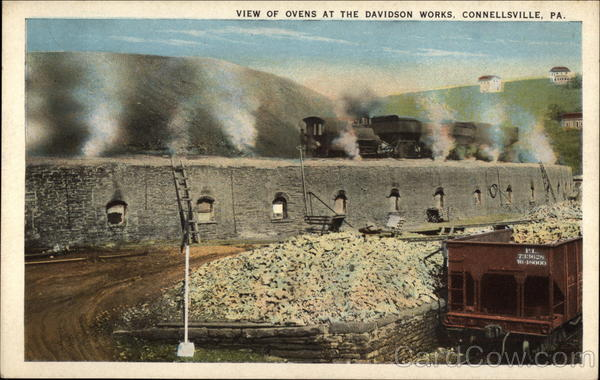 View of Ovens at the Davidson Works Connelssville Pennsylvania