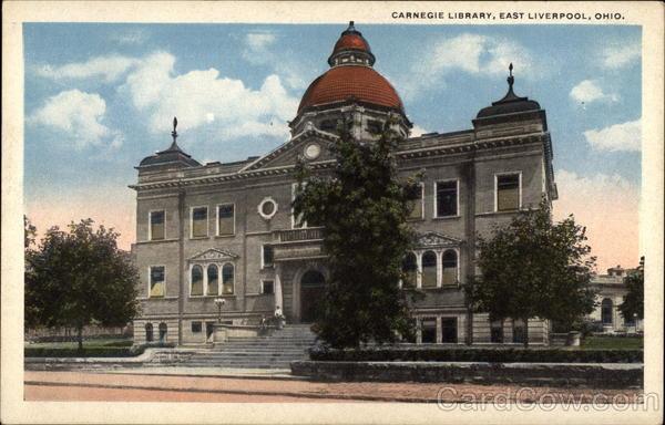 Carnegie Library East Liverpool Ohio