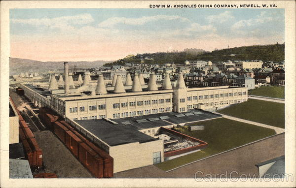 Edwin M. Knowles China Company Newell West Virginia