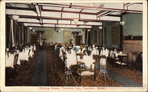 Dining Room, Taunton Inn Massachusetts
