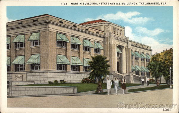 Martin Building (State Office Building) Tallahassee Florida