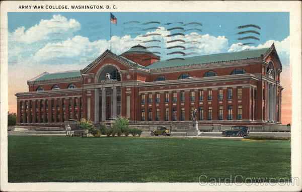 Army War College Washington District of Columbia