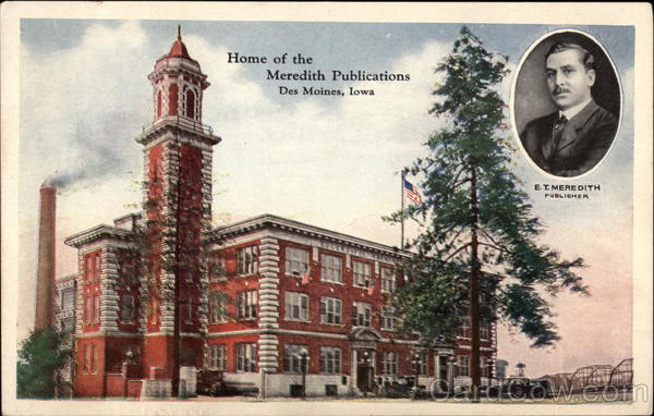 Home of the Meridith Publications Des Moines Iowa