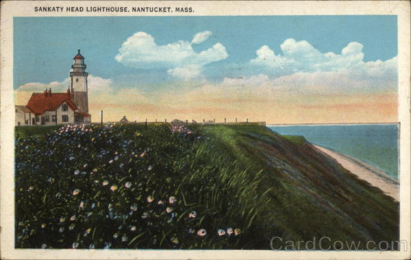 Sankaty Head Lighthouse Nantucket Massachusetts