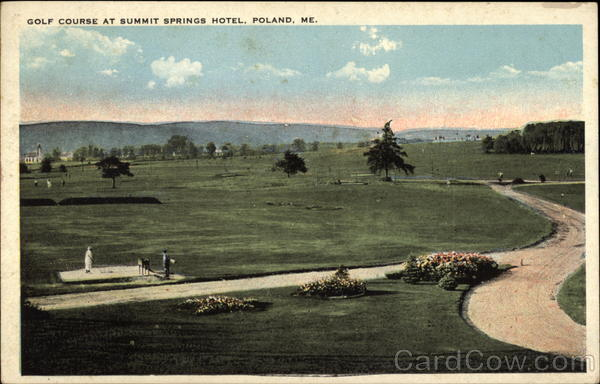 Golf Course at Summit Springs Hotel Poland Maine