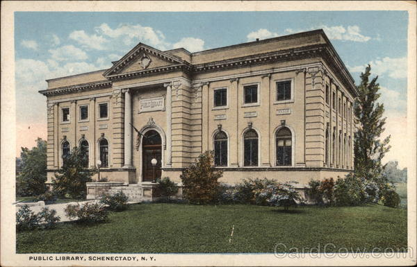 Public Library Schenectady New York