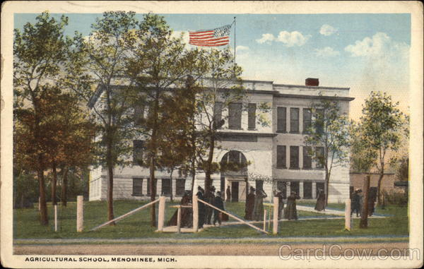Agricultural School Menominee Michigan