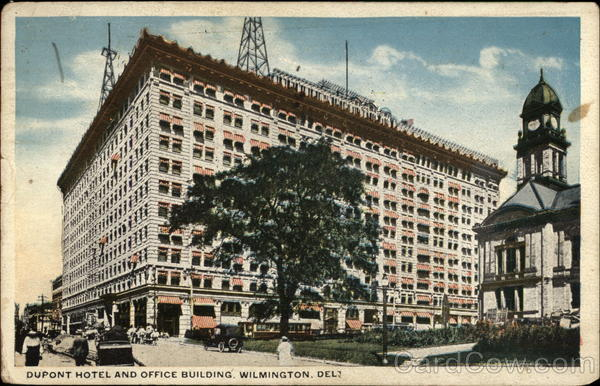 DuPont Hotel and Office Building Wilmington Delaware