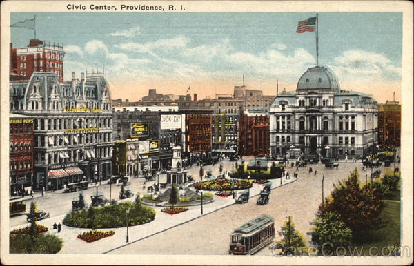 Civic Center Providence Rhode Island