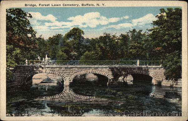 Bridge, Forest Lawn Cemetery Buffalo New York