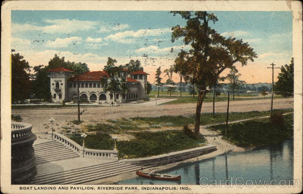 Boat Landing and Pavilion, Riverside Park Indianapolis