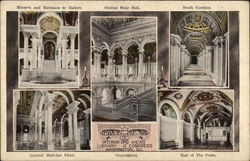 Interior Views of the Library of Congress