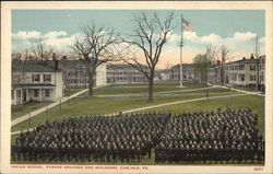 Indian School, Parade Grounds and Buildings