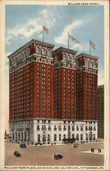 William Penn Hotel, William Penn Place, Sixth Ave. and Oliver Ave