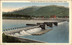 Lock No. 8, between Wellsville and East Liverpool