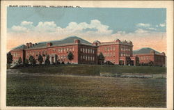 Blair County Hospital Postcard