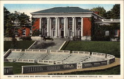 Law Building and Amphitheatre, University of Virginia