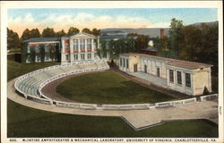 McIntire Amphitheatre & Mechanical Laboratory, University of Virginia