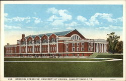 Memorial Gymnasium, University of Virginia