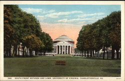 South Front Rotunda and Lawn, University of Virginia