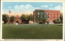 Gymnasium and Music Hall, W. Va. Wesleyan College