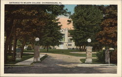 Entrance to Wilson College