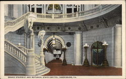 Grand Stairway and Rotunda, State Capitol