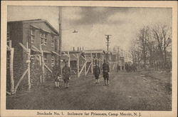 Stockade No. 1., Inclosure for Prisoners Camp