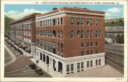 Public Safety Building and Penn Traffic Co. Store