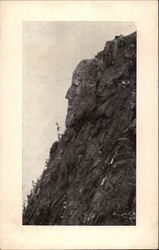 Webster Profile Dixville Notch Postcard