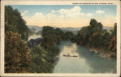 Scene on Hocking River